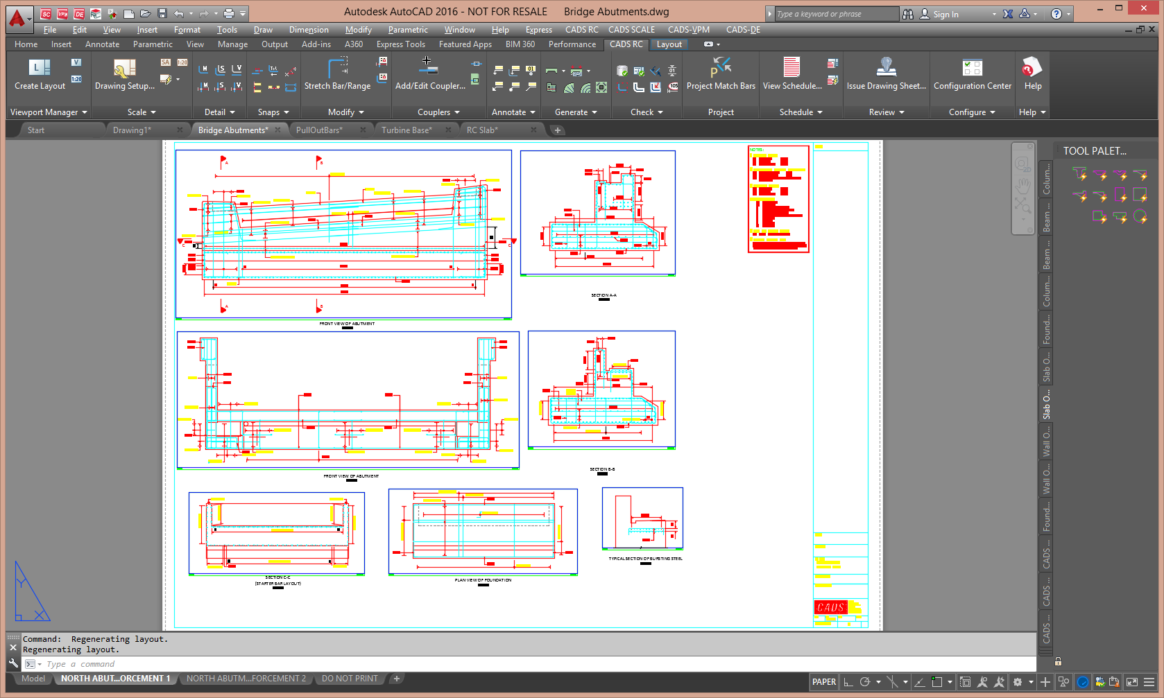 2d Drafting And Detailing : Cads rc detailing and bar bending schedule software cads uk