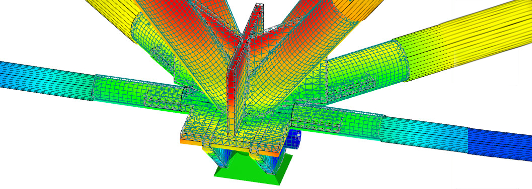 Steel joint in Dlubal RFEM