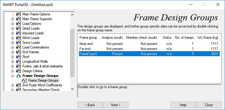 Frame Group Design