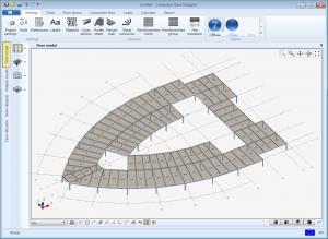 Composite floor designer model