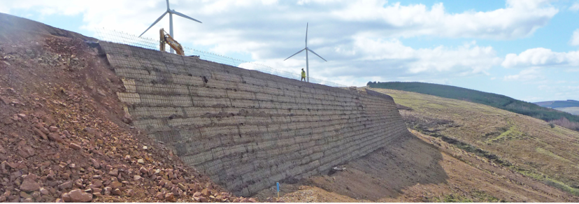 Slope construction