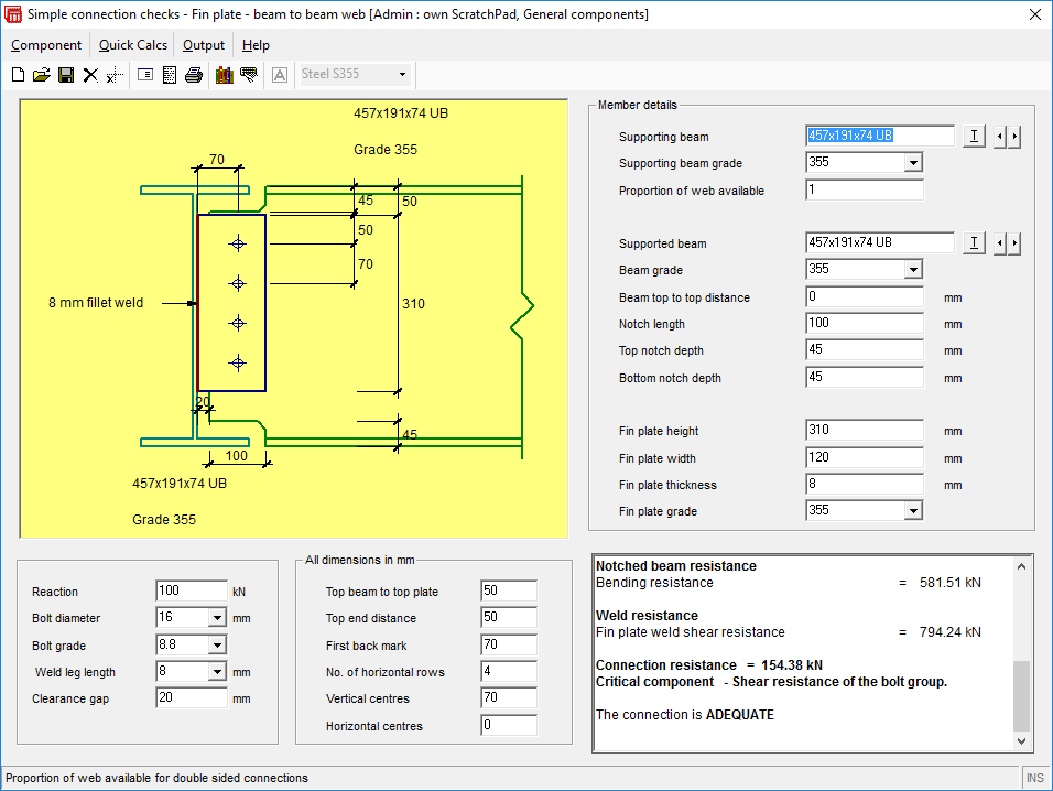 SMART Engineer Has Steelwork Simple Connections To EC3