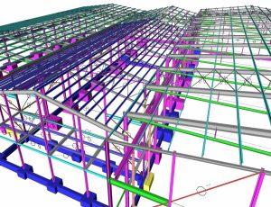 scia-engineer-steel-hall