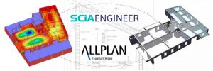 SCIA Engineer links to Allplan