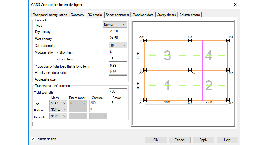 Composite Beam Designer - CADS UK