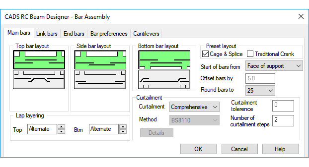RC Beam Designer software - CADS UK