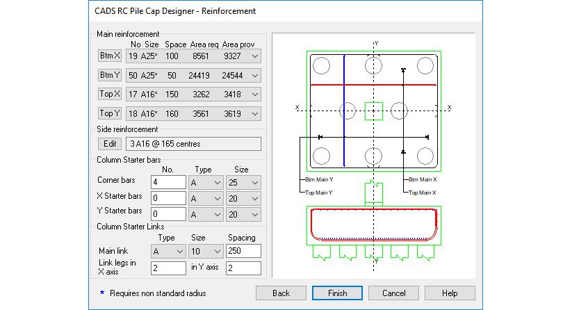 RC Pile Cap Designer - CADS UK