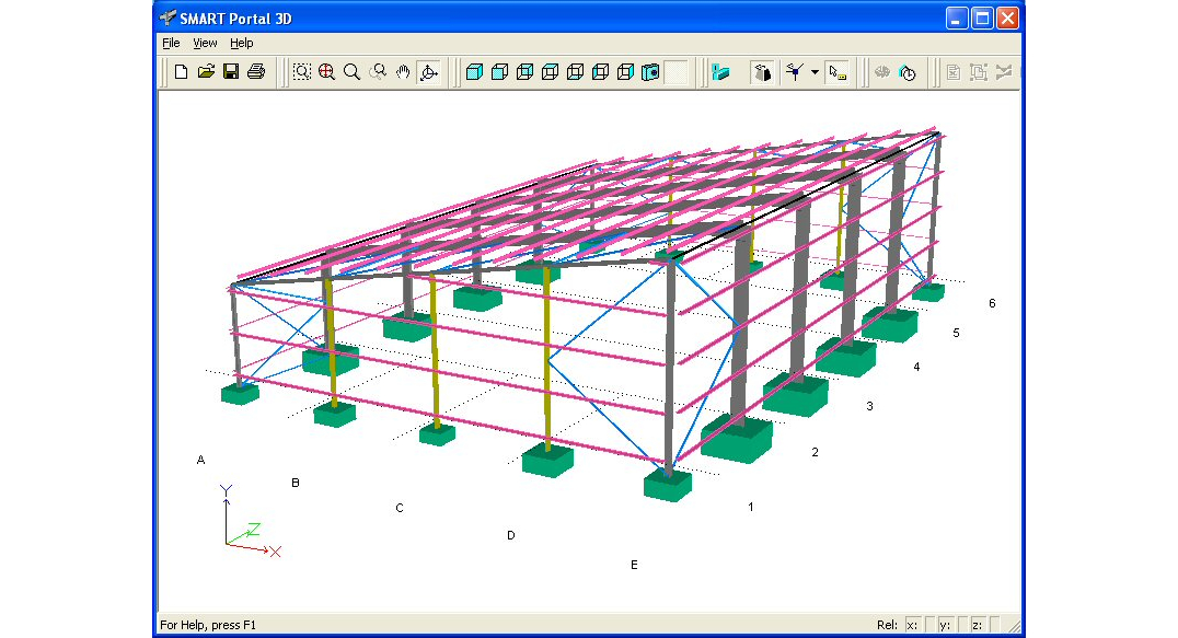 SMART Portal 3D - complete design of portal frames - CADS UK