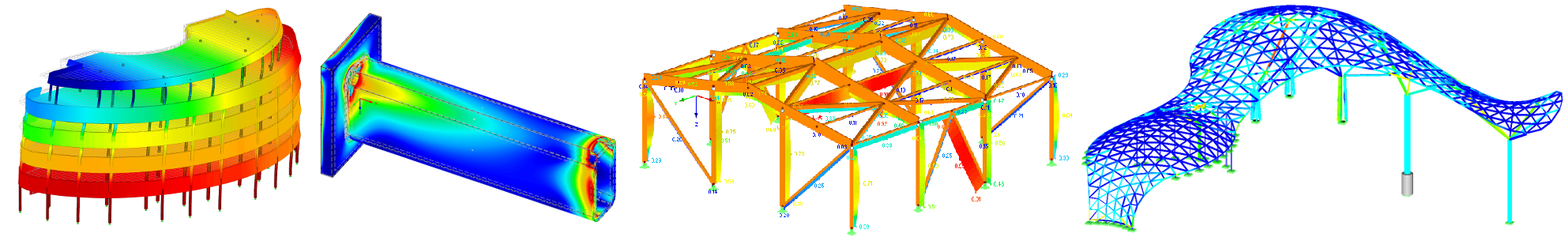 Dlubal structural Engineering models
